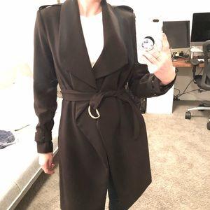 H&M Brand New Black Trench Jacket
